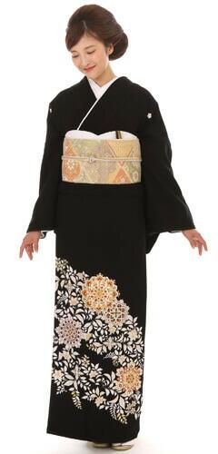 京友禅のお着物